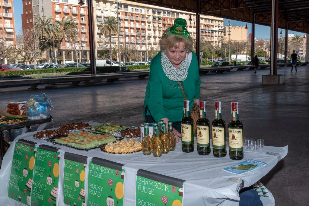 Jameson Whiskey at 2019 St. Patrick's Day Festival