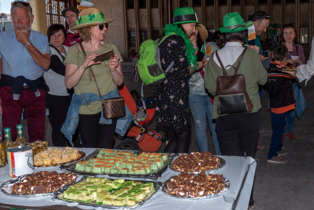 2019 St. Patrick's Day food table