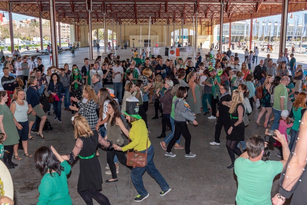 Céilí dancing in Valencia