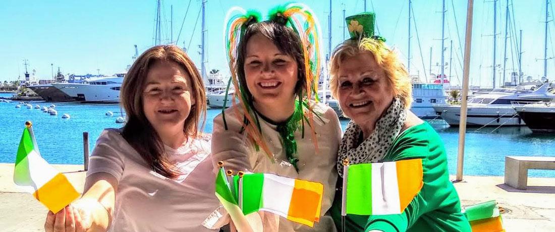 Caroline Phelan at 2019 St. Patrick's Day Festival